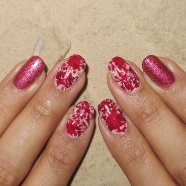 Bloody Hell! nail art by DeadCellCanvases