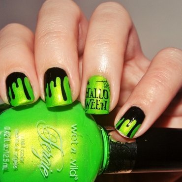 Halloween nail art by Lackopfer