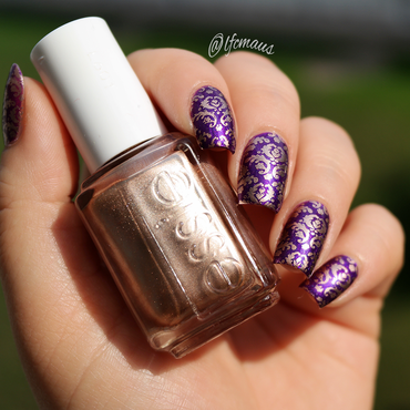 Fashionista Stamping nail art by Arlett