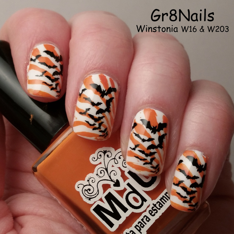 Halloween nail art by Gr8Nails