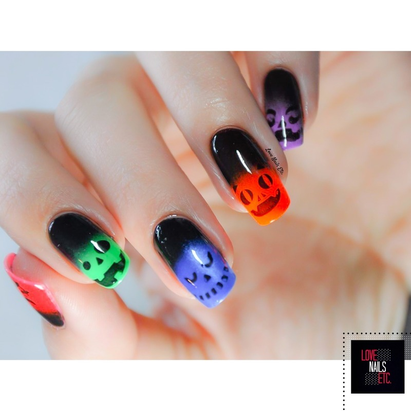 Nailstorming Halloween: Crazy Monsters nail art by Love Nails Etc