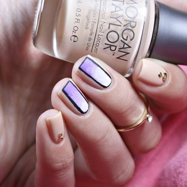 In The Shade Of Lavender  nail art by Romana