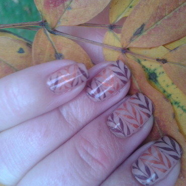 Autumn requires a sweater nail art by Jájis