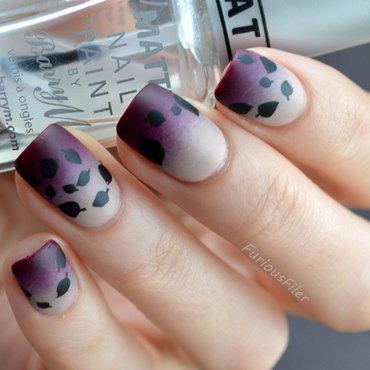 Matte Autumn chill nail art by Furious Filer