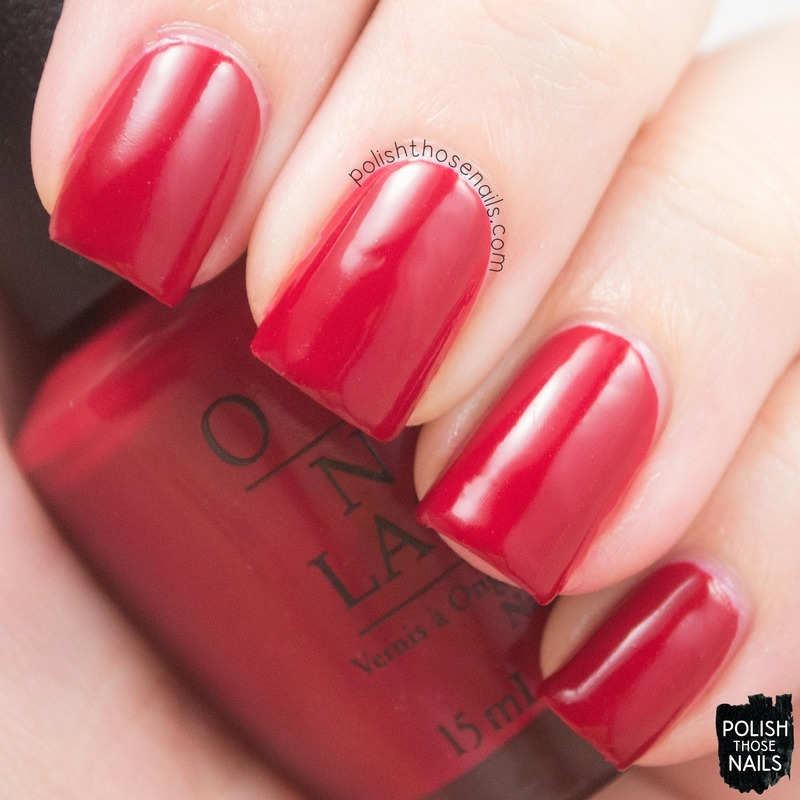 OPI Love Is In My Cards Swatch by Marisa  Cavanaugh