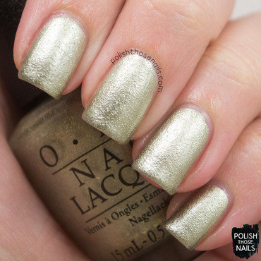 Opi starlight collection comet closer gold texture swatch 3 thumb370f