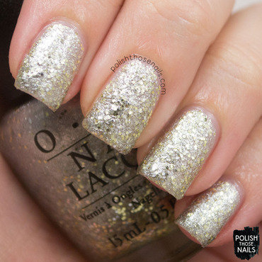 Opi starlight collection super star status silver gold glitter swatch 3 thumb370f