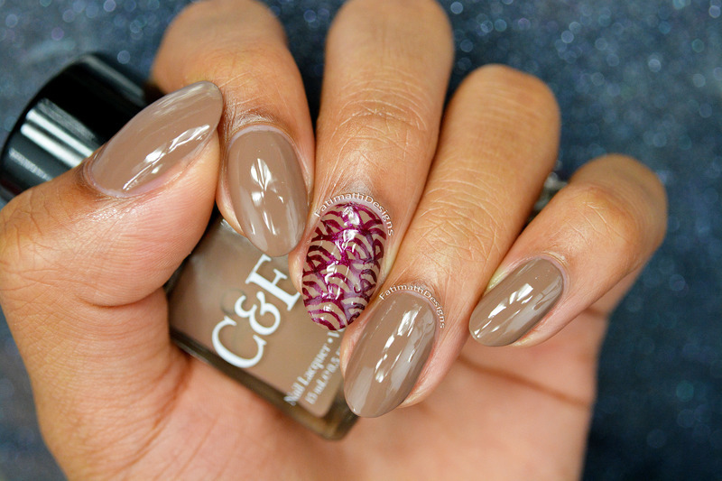 Crabtree & Evelyn Clay Swatch by Fatimah - Nailpolis: Museum of Nail Art