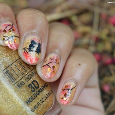 Welcome Fall ! nail art by MimieS Nail