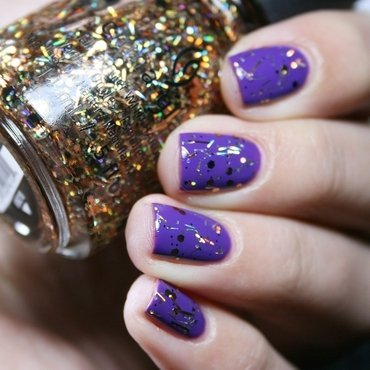 Orly Charged Up and China Glaze Rest in Pieces Swatch by Romana