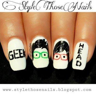 Geek Nails nail art by Anita Style Those Nails