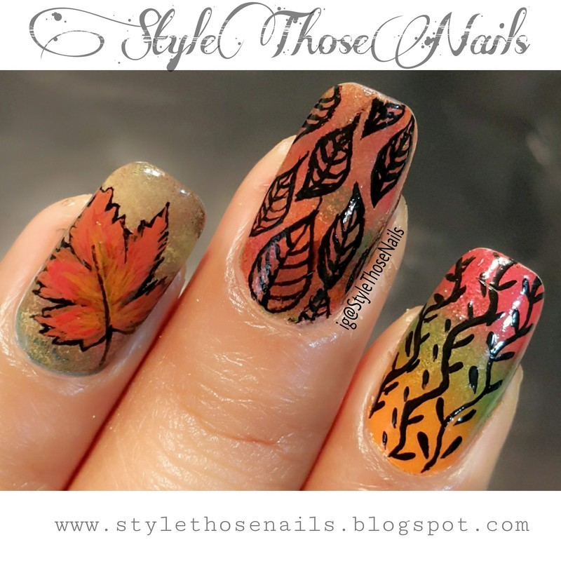 Fall Nails nail art by Anita Style Those Nails