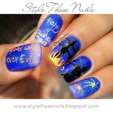 Dushera Nails 2015 nail art by Anita Style Those Nails