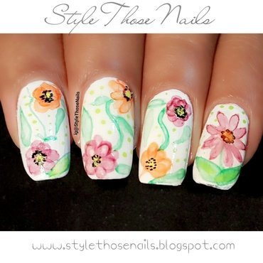 Stylethosenails watercolour 20flowers 20 6  thumb370f