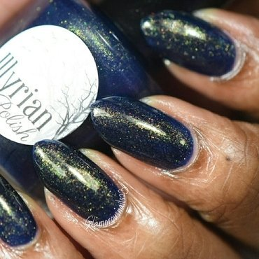 Illyrian Polish Howl At The Moon Swatch by glamorousnails23