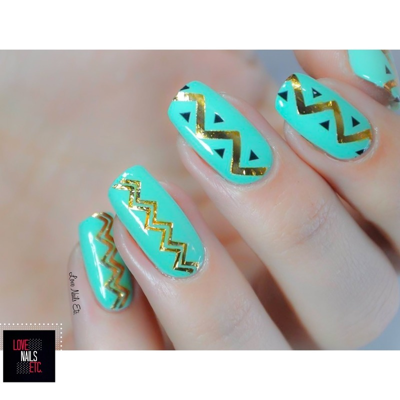 Nail Art Jewel Satellite Paris #2 nail art by Love Nails Etc