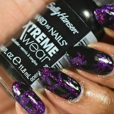 WNAC October 2015: Holoween nail art by glamorousnails23
