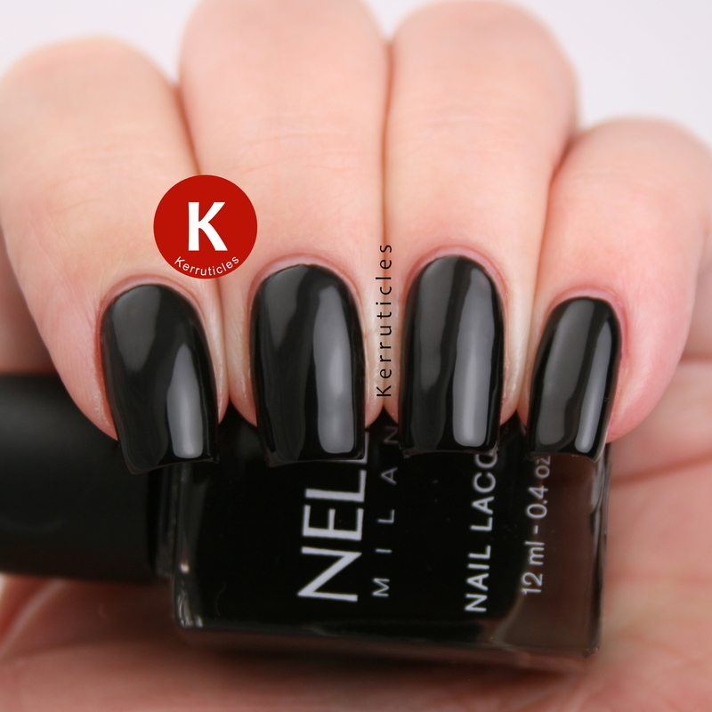 Nella Milano Raven Wing Swatch by Claire Kerr