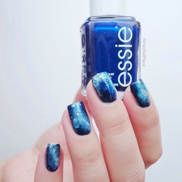 Galaxy Defenders nail art by Alina E.
