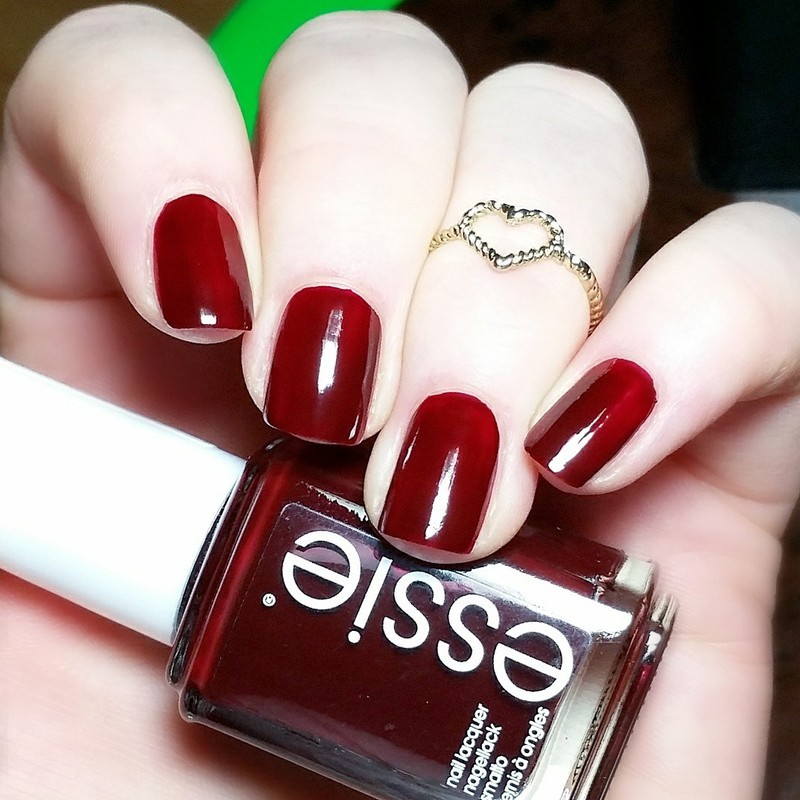 Essie Berry Naughty Swatch By Nailicious 1 Nailpolis Museum Of Nail Art