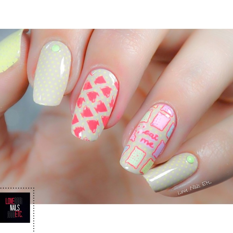 Tea Time nail art by Love Nails Etc