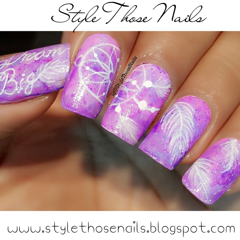 DreamCatcher Nails nail art by Anita Style Those Nails