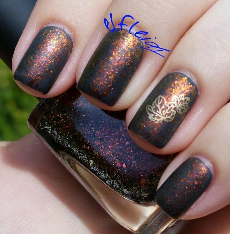 IGer inspired nail art nail art by Jenette Maitland-Tomblin