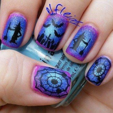PAA Mani Monday 10-25-2015 nail art by Jenette Maitland-Tomblin