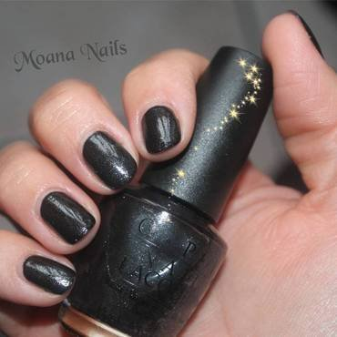 Baby it's coal OPI OPI Swatch by MoanaNails