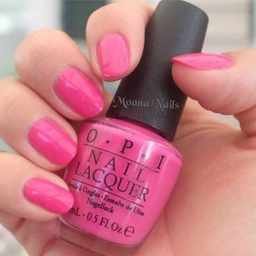 OPI - Kiss me on my tulips Swatch by MoanaNails