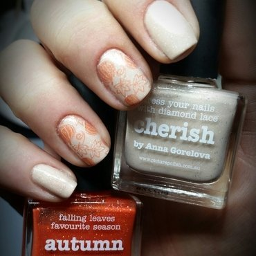 autumn🍁🍂🍃🎃 nail art by redteufelchen86