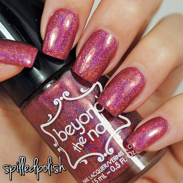 Beyond The Nail Rudolph Swatch by Maddy S