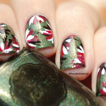 fall nail art nail art by Dorothy NailAssay