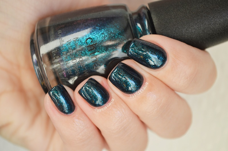 China Glaze Don't Get Elfed Up Swatch by Julia