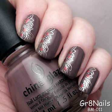Fall nail art by Gr8Nails
