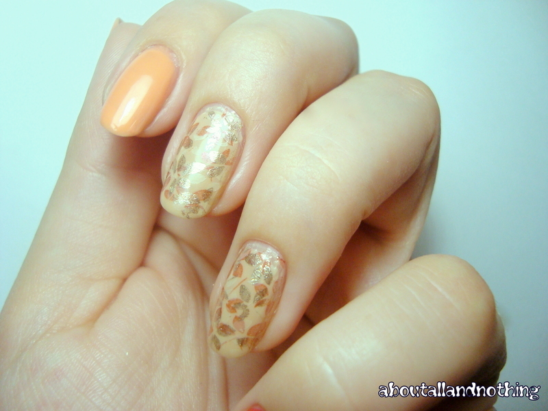 Upholstery :) nail art by Kasia