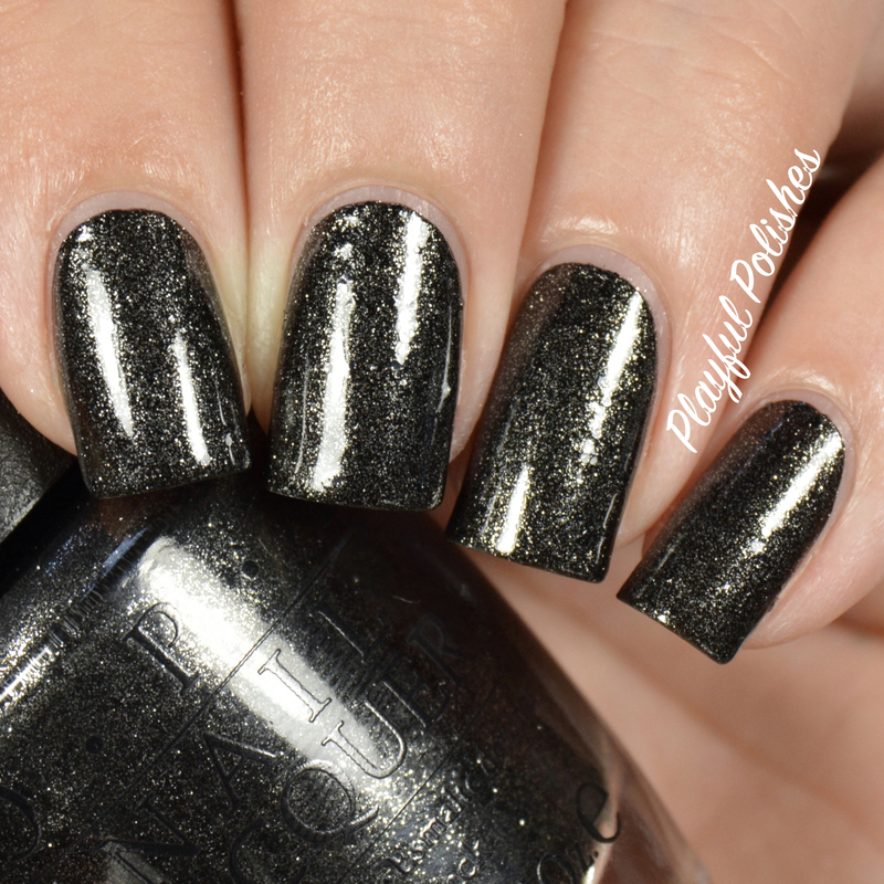 OPI Center of the You-niverse Swatch by Playful Polishes
