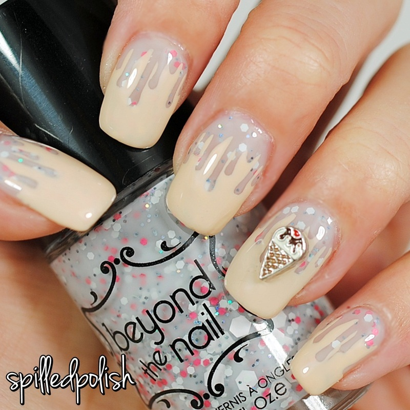 Ice Cream Nails nail art by Maddy S