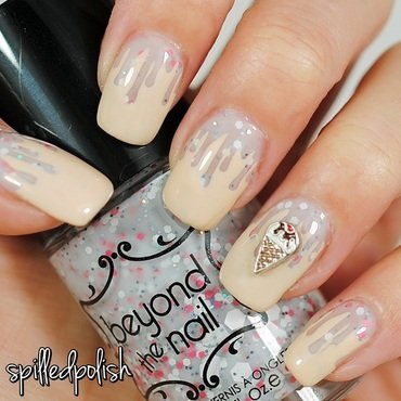 Ice Cream Nails nail art by Maddy S