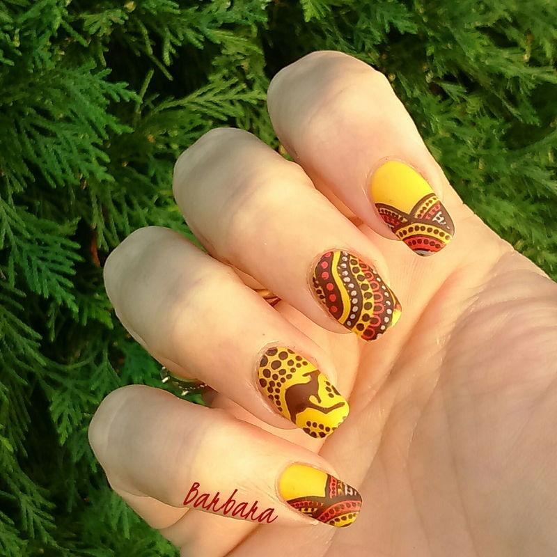 Travel in Australia  nail art by Les ongles de B.