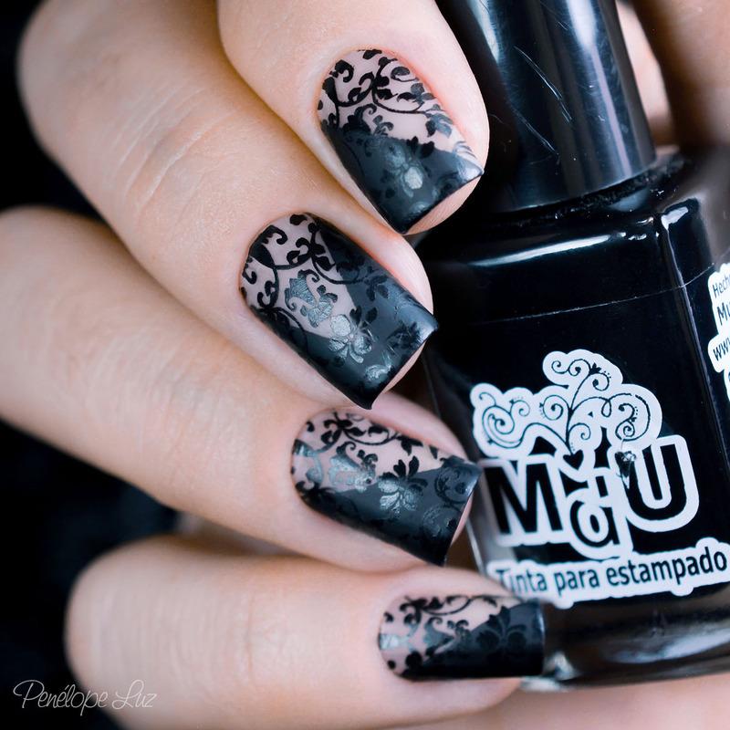 Nail Art Renda nail art by Penélope Luz