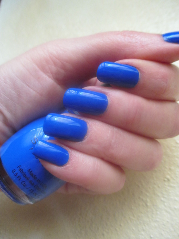Sinfulcolors Endless Blue Swatch by NinaB