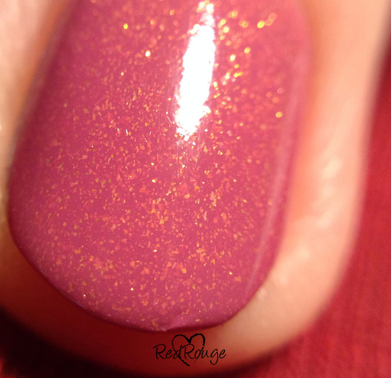 Lovely Luxe Girl no. 6 Swatch by RedRouge