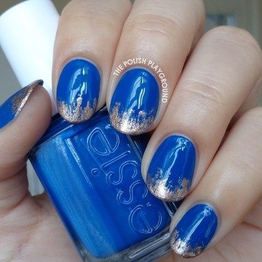 Royal 20blue 20with 20rose 20gold 20tips 20nail 20art thumb370f