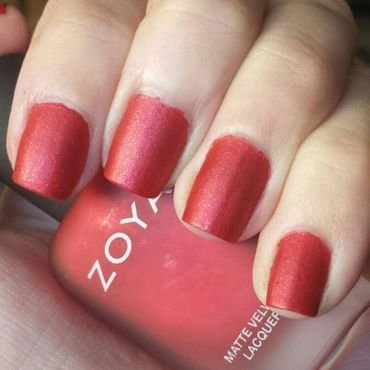 Zoya Amal Swatch by Alaina Afflerbaugh