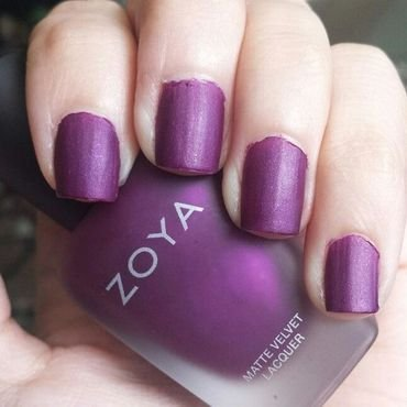 Zoya Iris Swatch by Alaina Afflerbaugh