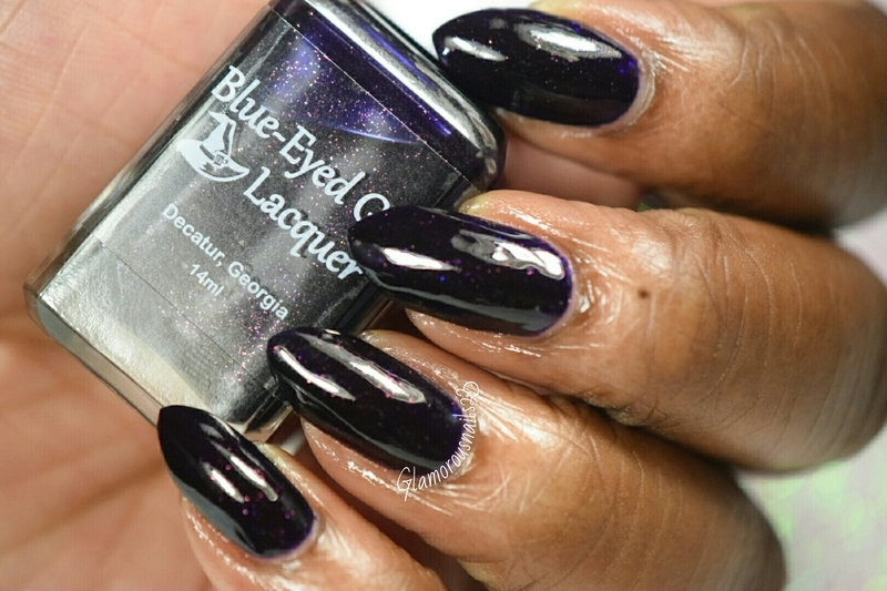 Blue-Eyed Girl Lacquer We Fly With Our Spirit Swatch by glamorousnails23