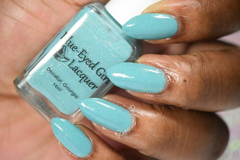 Blue-Eyed Girl Lacquer I Have Known You Since You Were Small Swatch by glamorousnails23