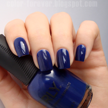 Orly Midnight Show Swatch by ania