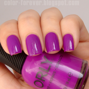 Orly Be Daring Swatch by ania